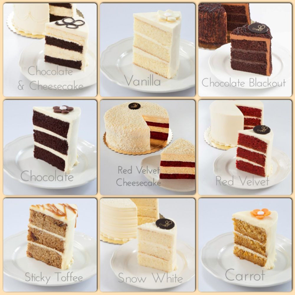 Birthday Cake Flavor Ideas  Cake flavor options for your next celebration cake