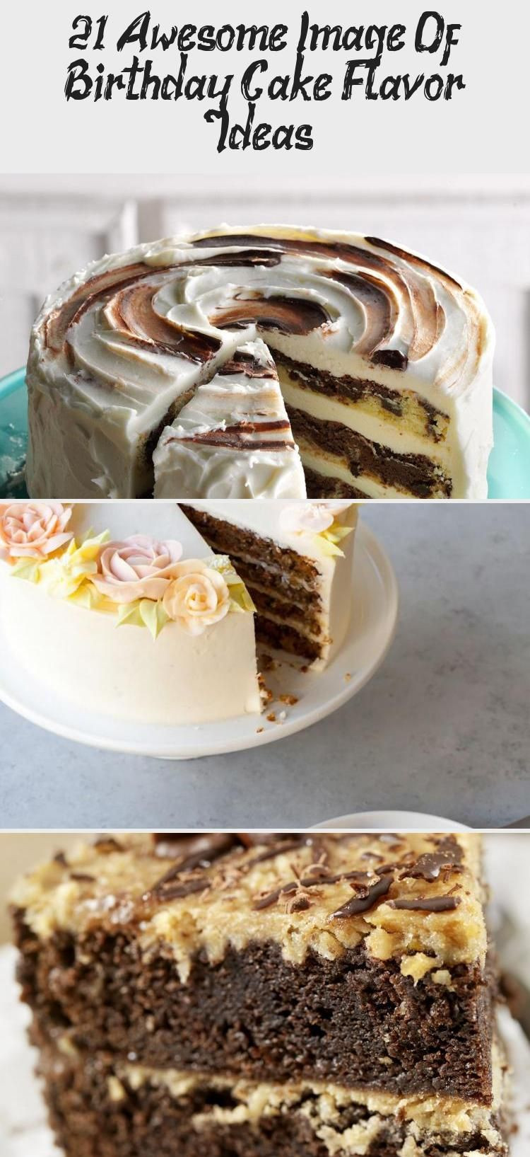 Birthday Cake Flavor Ideas  21 Awesome Image Birthday Cake Flavor Ideas