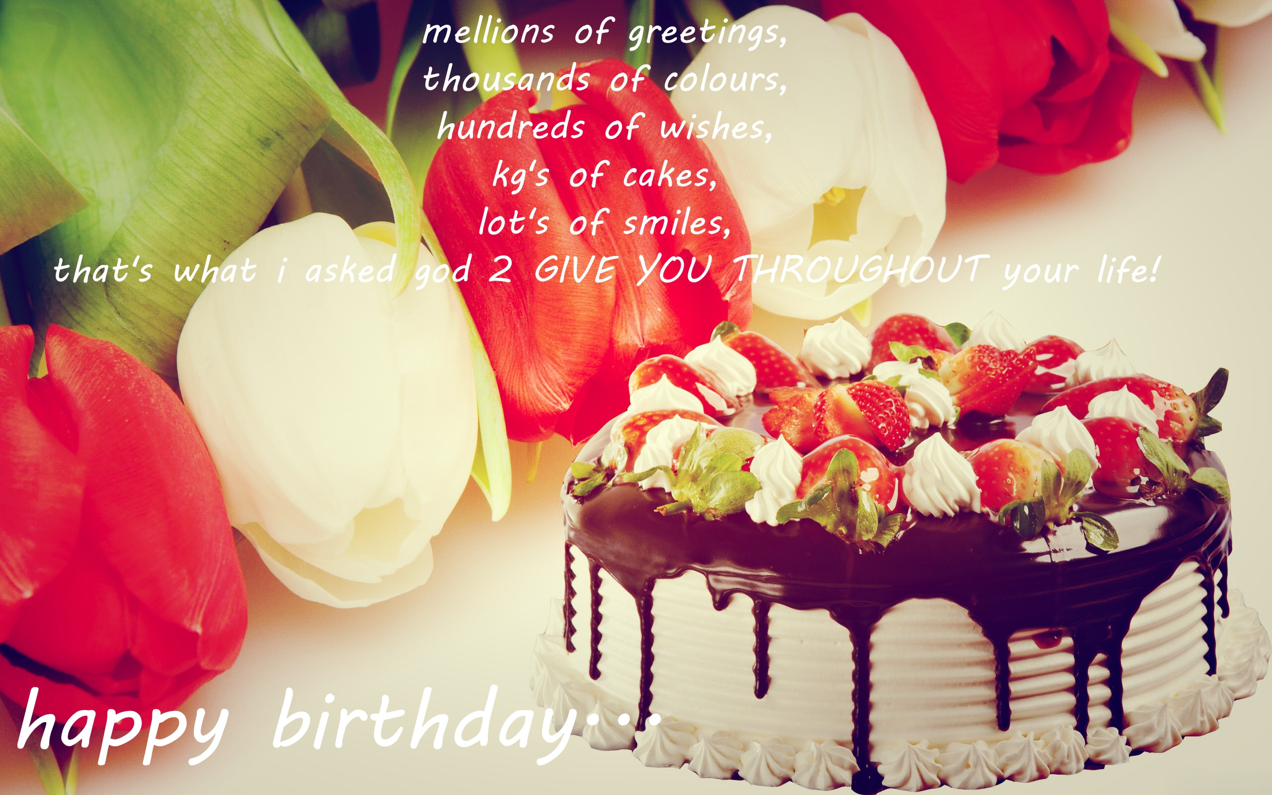 Birthday Cake Sayings  Happy Birthday To Love HD Wallpapers Messages & Quotes