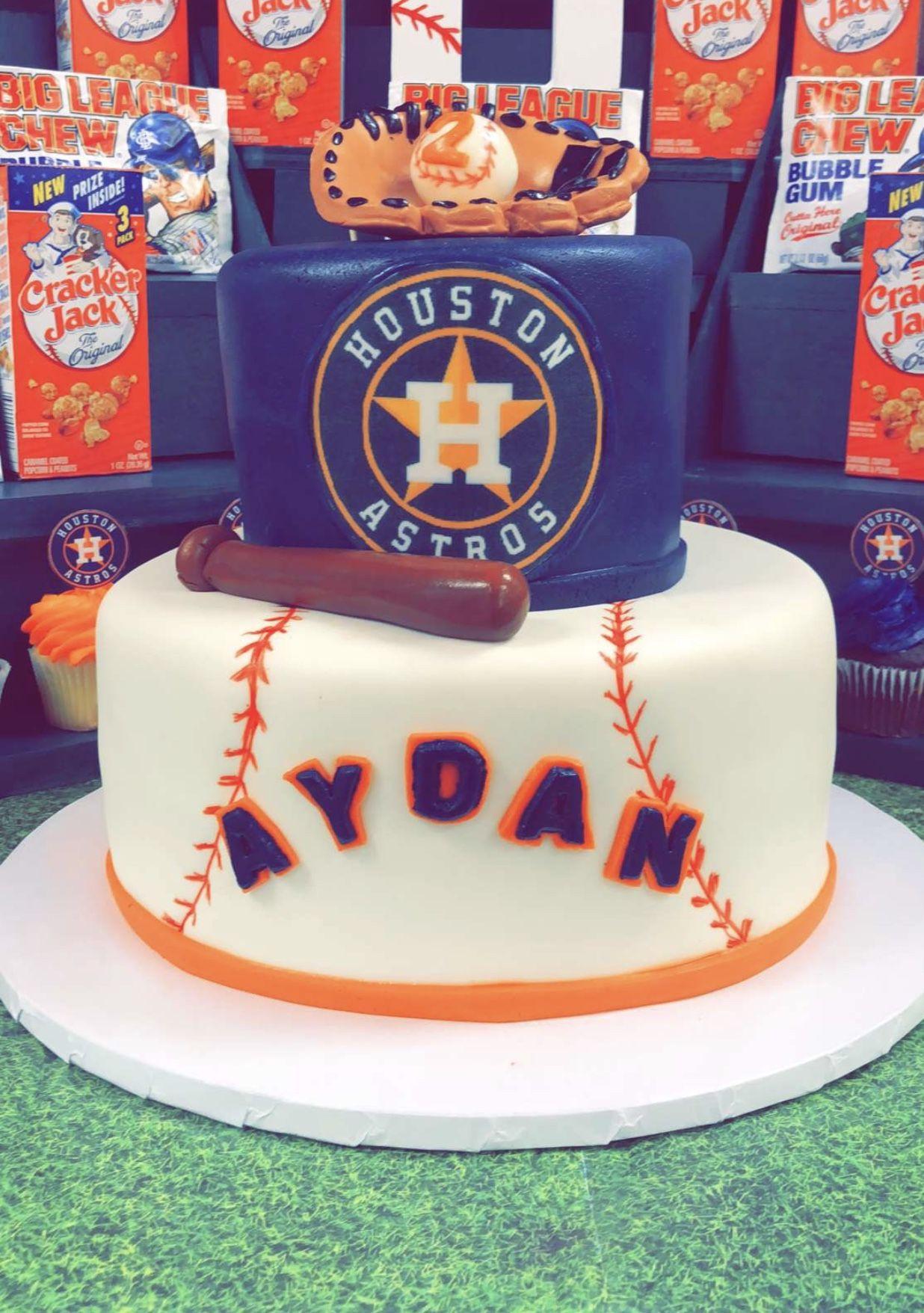 Birthday Cakes Houston  Houston Astros cake