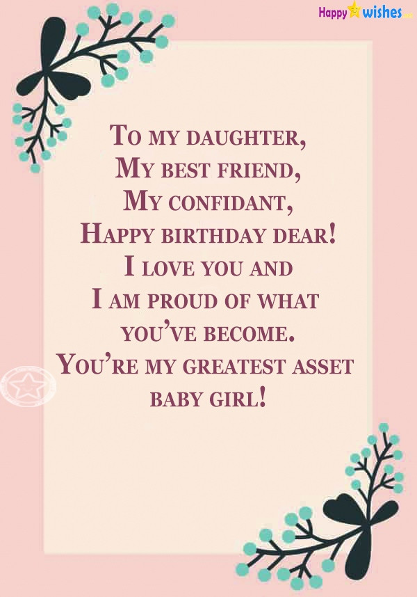 Birthday Daughter Quotes  Birthday Wishes For Step Daughter – Quotes & Messages