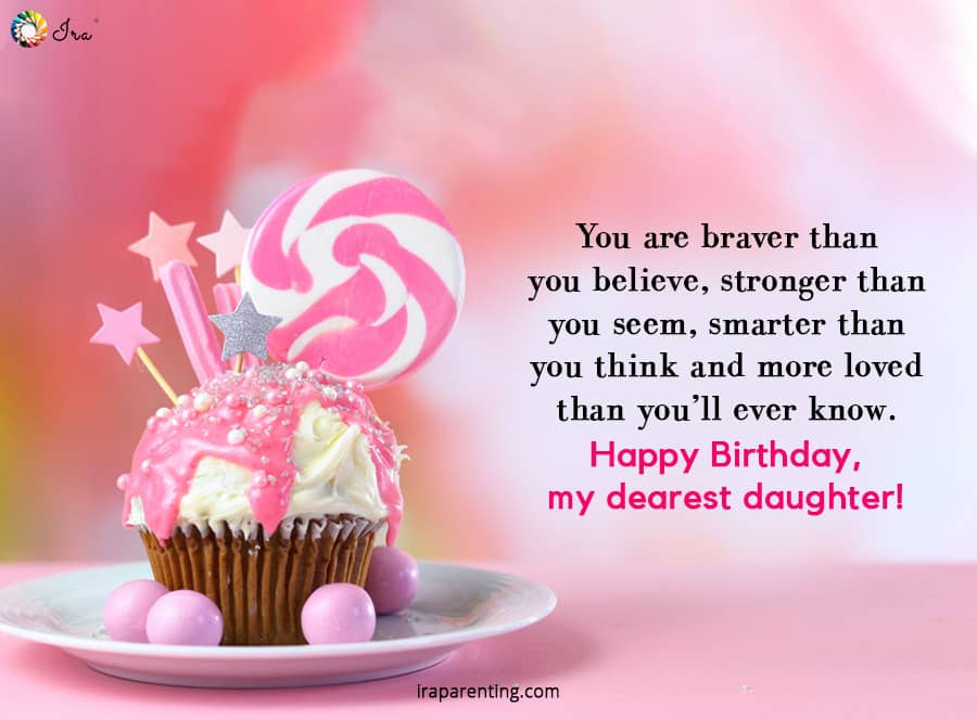 Birthday Daughter Quotes  Birthday Wishes for Baby Girl