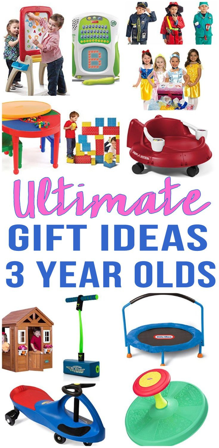 Birthday Gift Ideas 3 Year Old Boy  Best Gifts For 3 Year Old