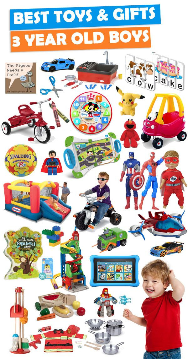 Birthday Gift Ideas 3 Year Old Boy  Best Gifts And Toys For 3 Year Old Boys