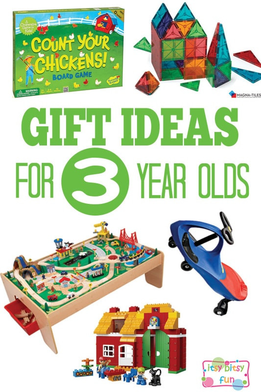 Birthday Gift Ideas 3 Year Old Boy  Gifts for 3 Year Olds Itsy Bitsy Fun