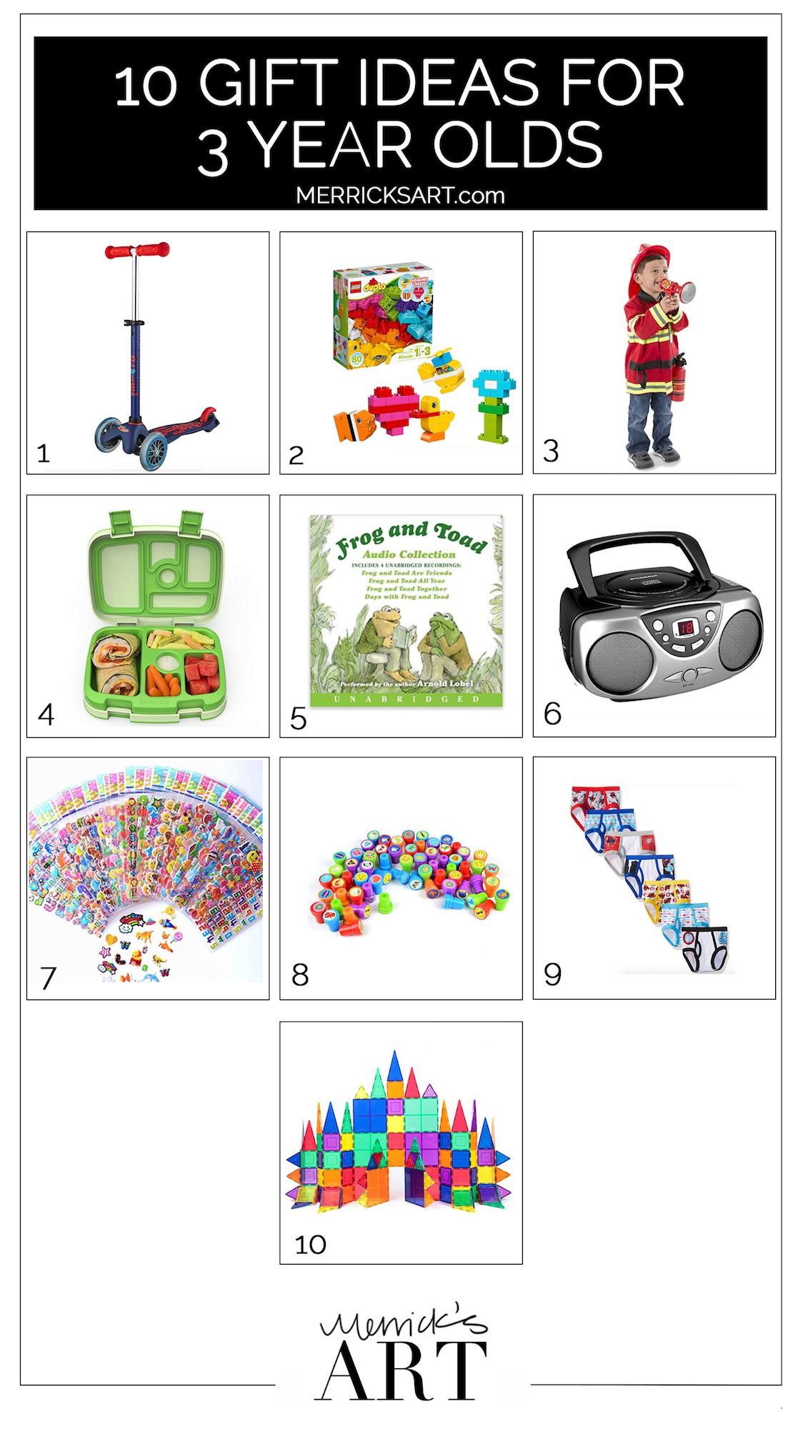 Birthday Gift Ideas 3 Year Old Boy  10 Birthday Gift Ideas for a 3 Year Old Boy