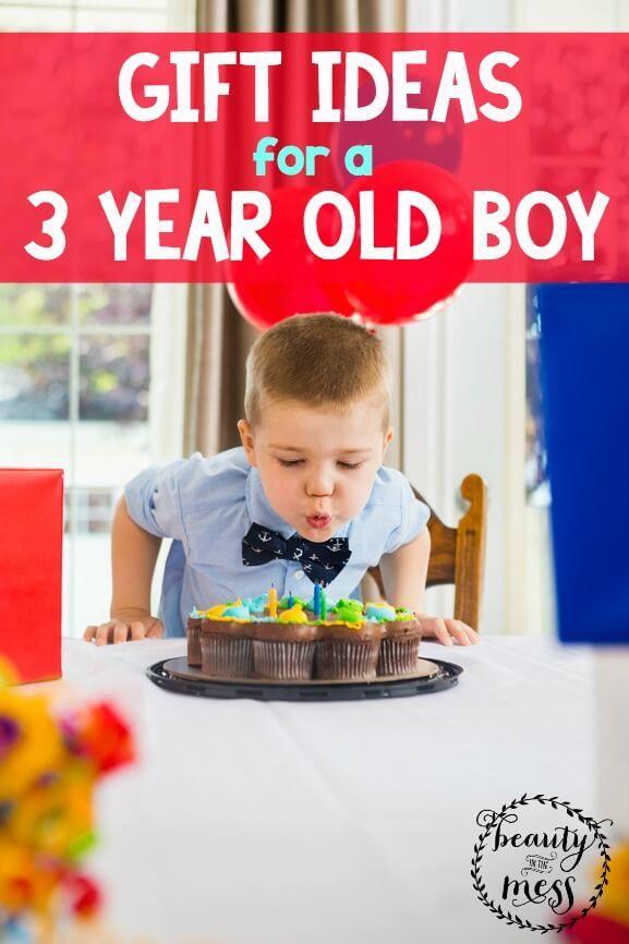 Birthday Gift Ideas 3 Year Old Boy  Gift Ideas for a 3 Year Old Boy