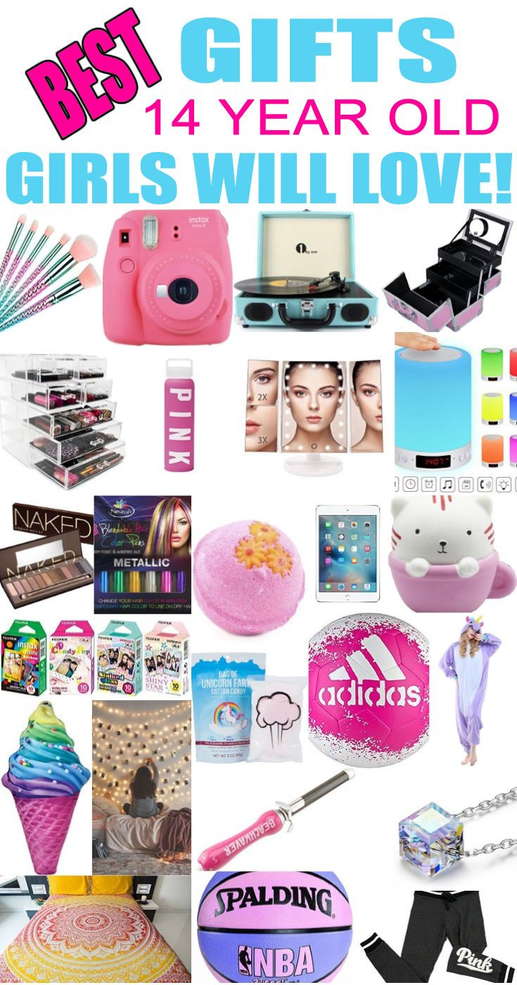 Birthday Gift Ideas For 14 Yr Old Girl  Pin on Gift Guides