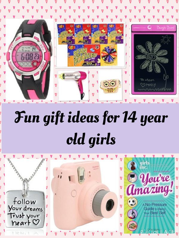 Birthday Gift Ideas For 14 Yr Old Girl  Gift ideas for 15 year old girls