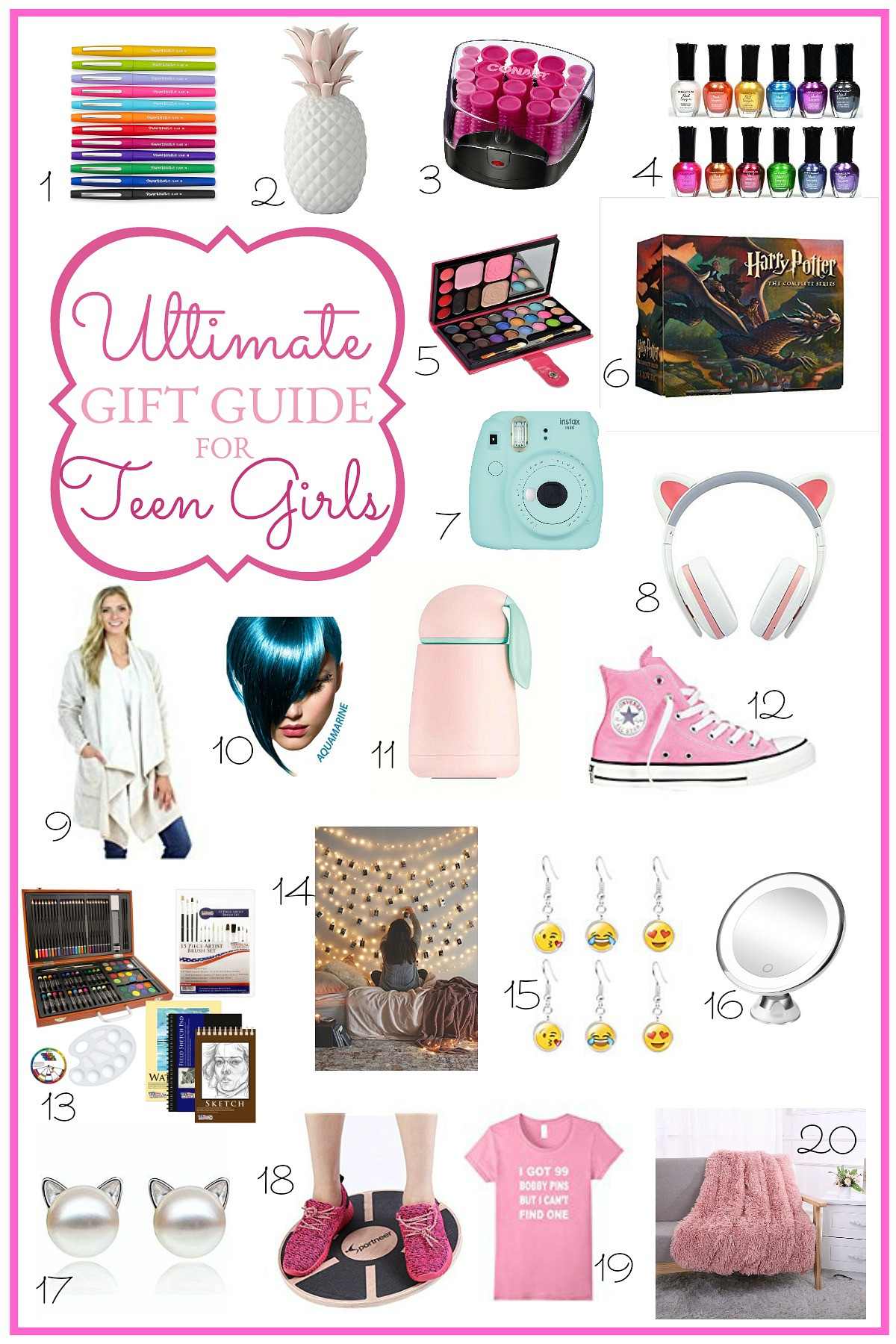 Birthday Gift Ideas For 14 Yr Old Girl  Ultimate Holiday Gift Guide for Teen Girls