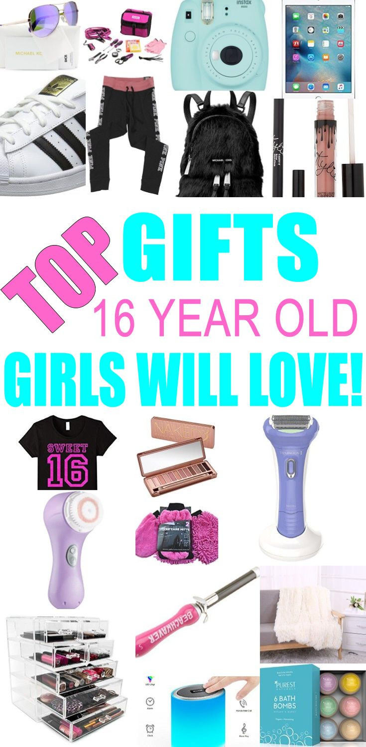 Birthday Gift Ideas For 16 Year Old Girl  Best Gifts 16 Year Old Girls Will Love
