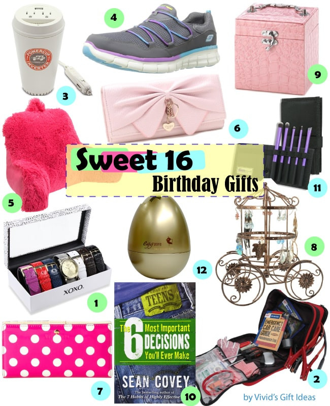 Birthday Gift Ideas For 16 Year Old Girl  Gift Ideas for Girls Sweet 16 Birthday Vivid s