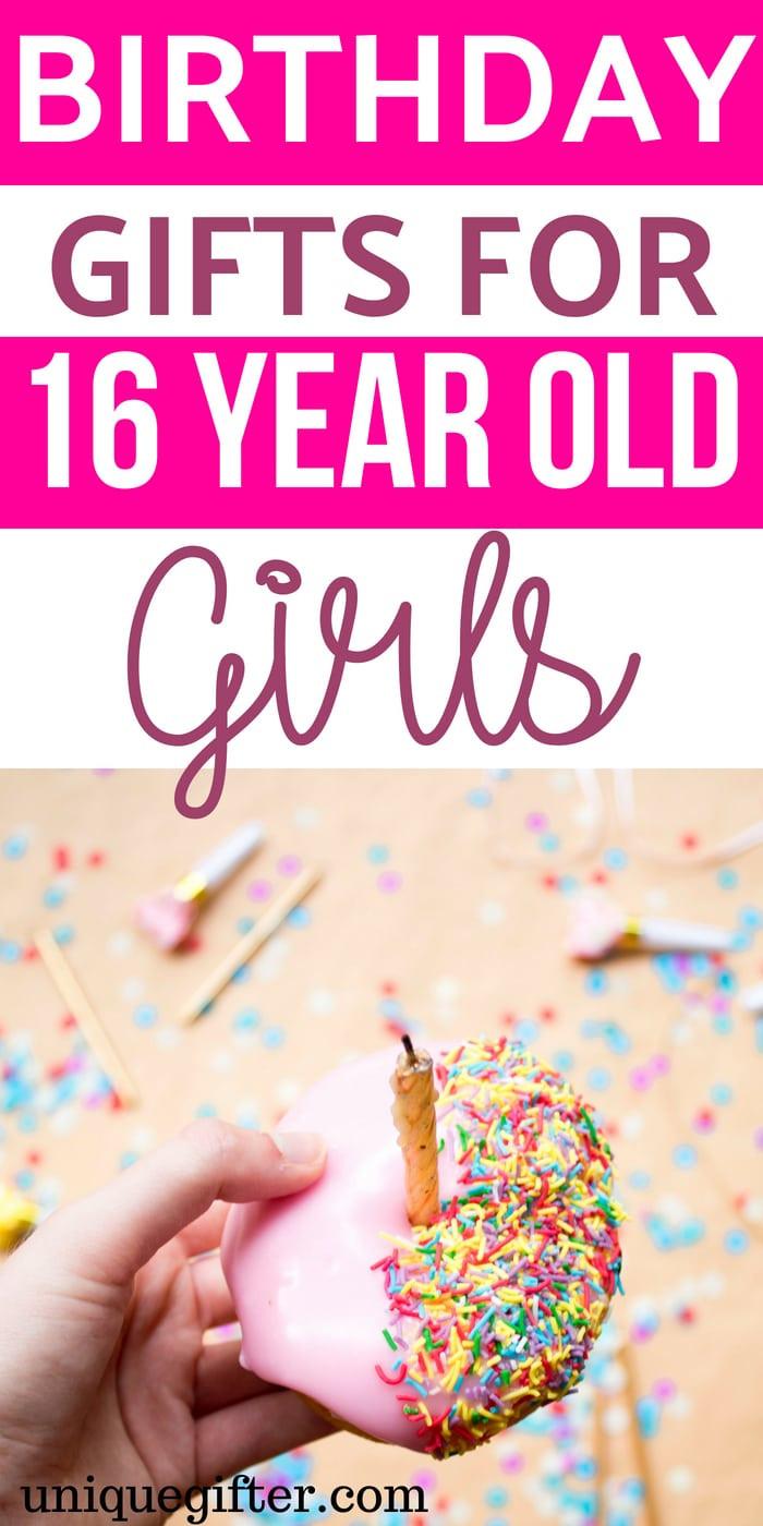 Birthday Gift Ideas For 16 Year Old Girl  Birthday Gifts for 16 Year Old Girls Unique Gifter