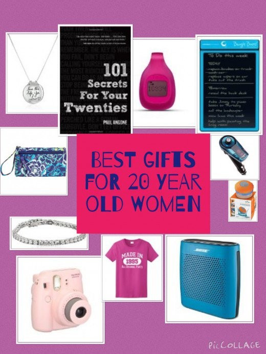 Birthday Gift Ideas For 20 Year Old Female  Brilliant Birthday and Christmas Gift Ideas for 20 Year