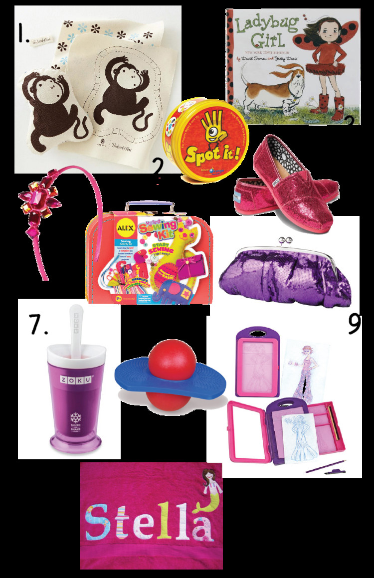 Birthday Gift Ideas For 20 Year Old Female  Great ideas for Little Girls Birthday Gifts 5 7 years old