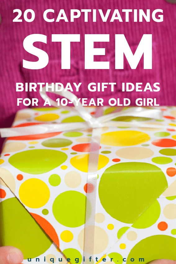 Birthday Gift Ideas For 20 Year Old Female  20 STEM Birthday Gift Ideas for a 10 Year Old Girl