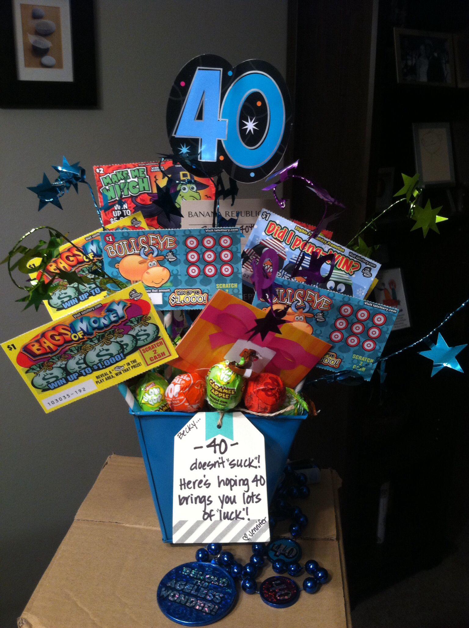 Birthday Gift Ideas For Friend Woman  40th birthday present for my friend
