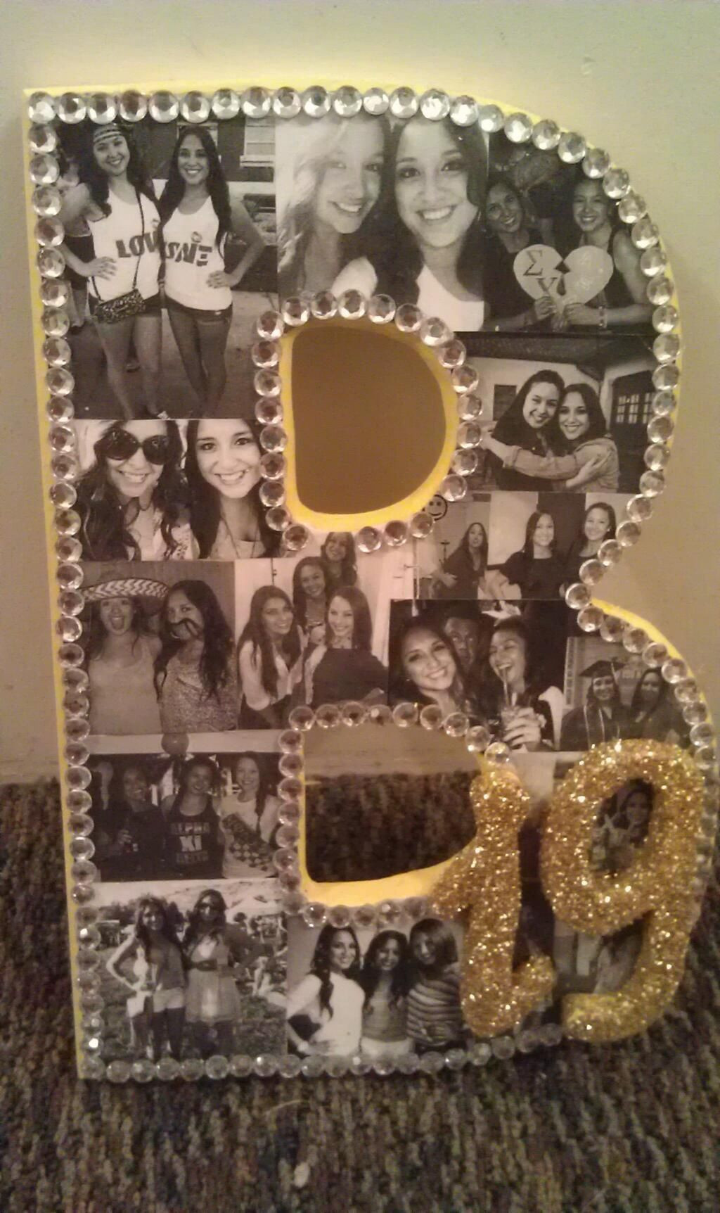 Birthday Gift Ideas For Friend Woman  Sorority Crafting