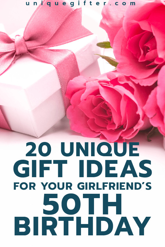 Birthday Gift Ideas For Your Girlfriend  Gift Ideas for your Girlfriend s 50th Birthday