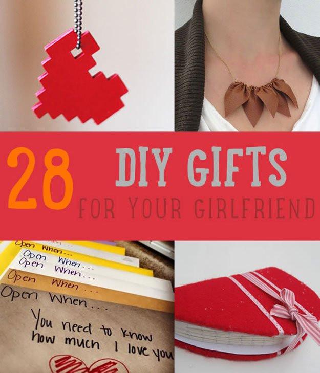 Birthday Gift Ideas For Your Girlfriend  28 DIY Gifts For Your Girlfriend