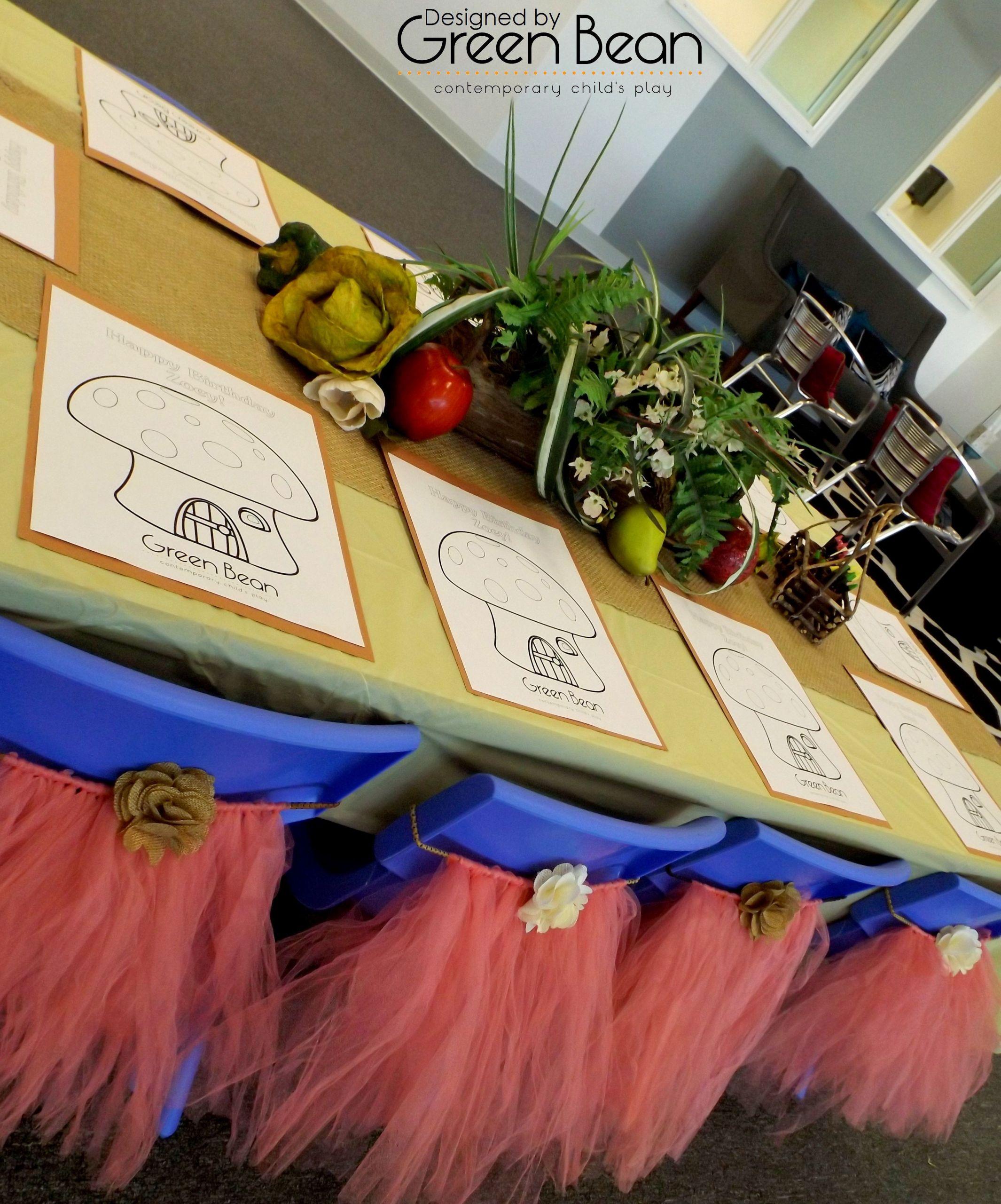 Birthday Party Ideas Virginia Beach  Super Celebration Enchanted Garden style at Green Bean