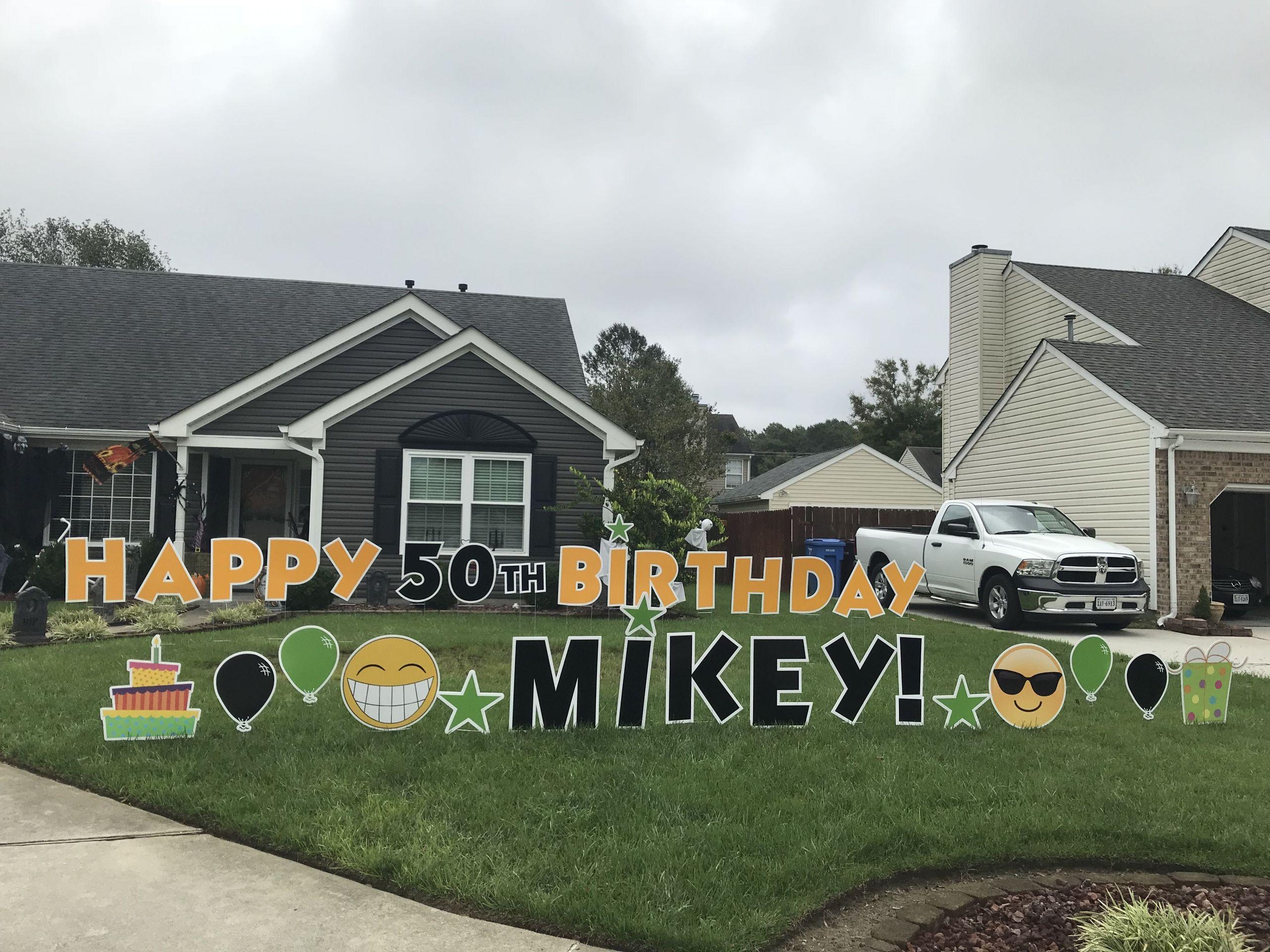 Birthday Party Ideas Virginia Beach  Happy Birthday 50th Birthday Milestone Birthday
