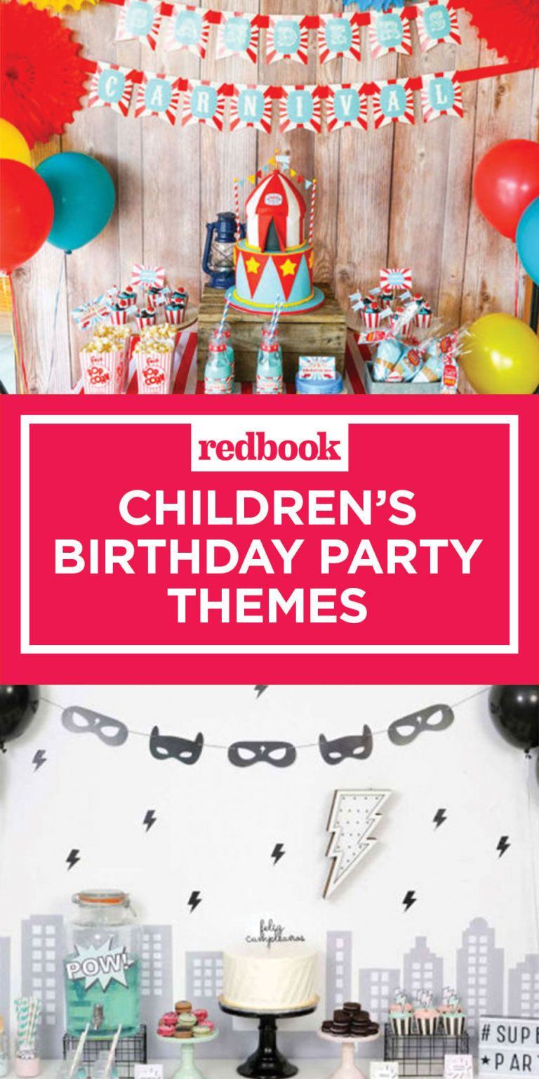 Birthday Party Themes For Kids  12 Best Kids Birthday Party Ideas Unique Children s