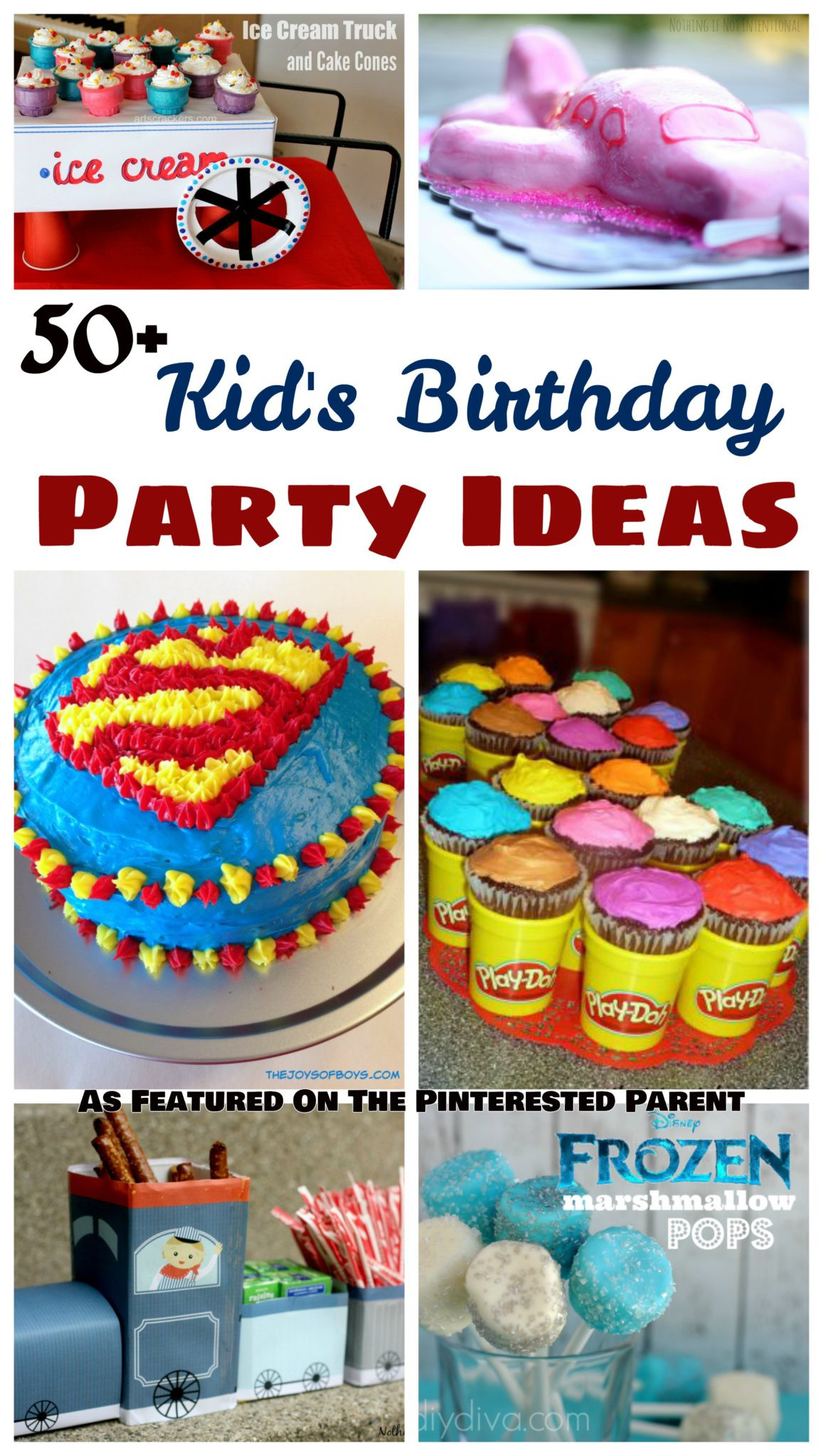 Birthday Party Themes For Kids  50 Kid s Birthday Party Ideas – The Pinterested Parent