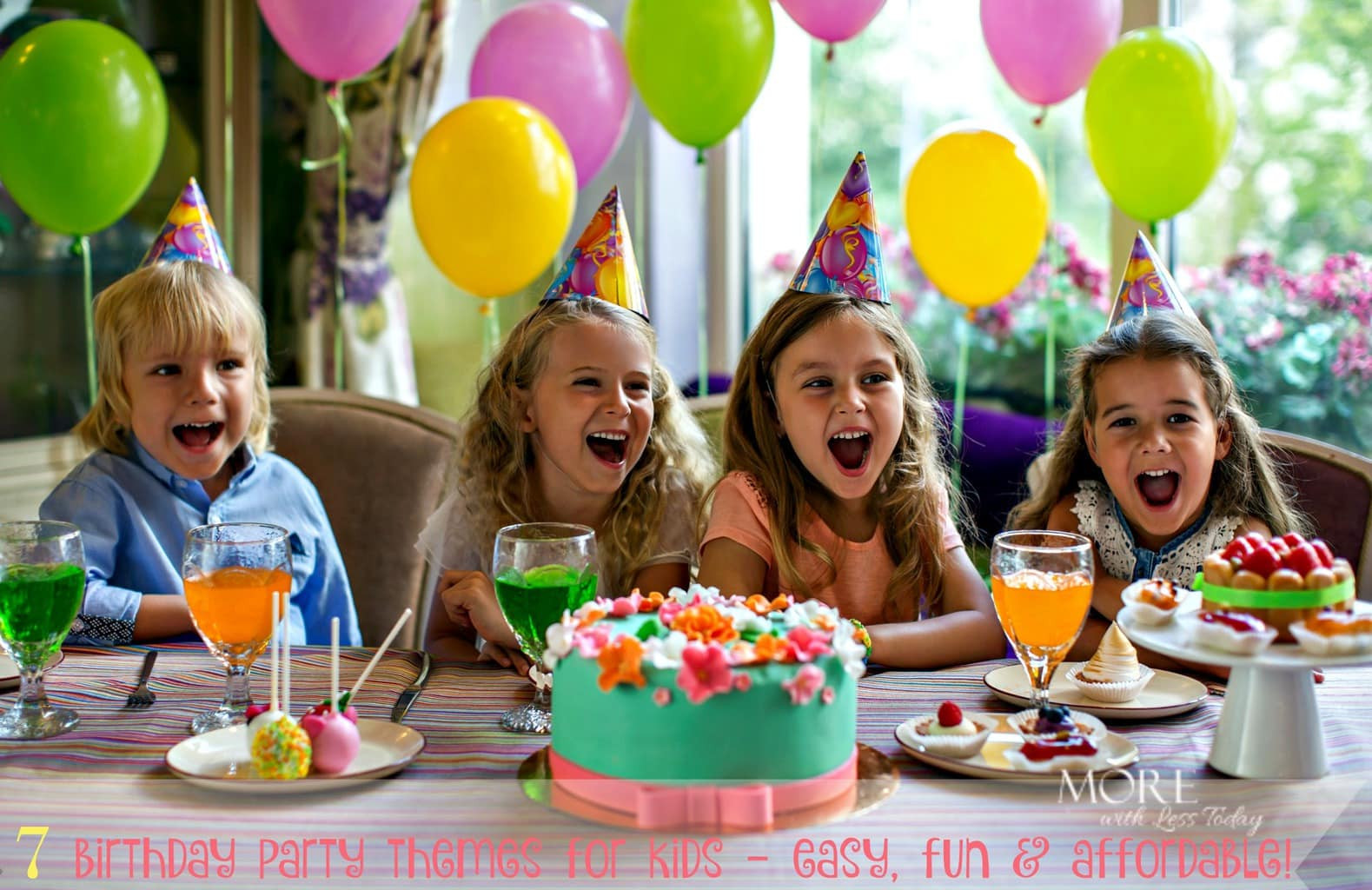 Birthday Party Themes For Kids  Fun and Inexpensive Theme Ideas for Kids Birthday Parties