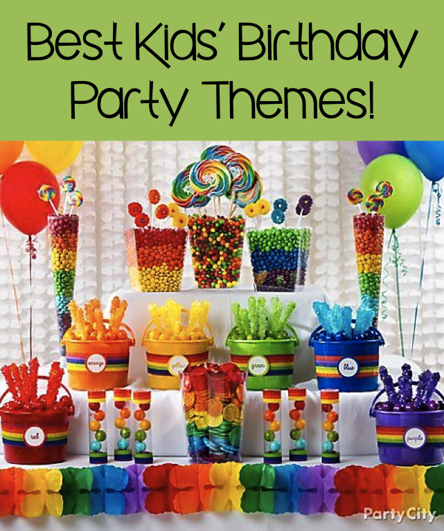 Birthday Party Themes For Kids  Best Kids' Birthday Party Themes 7 Great Ideas