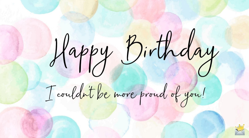 Birthday Quotes To Daughter  Birthday Quotes for my Daughter
