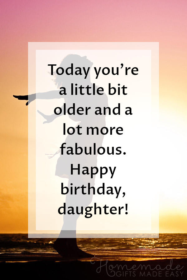 Birthday Quotes To Daughter  100 Happy Birthday Daughter Wishes & Quotes for 2020