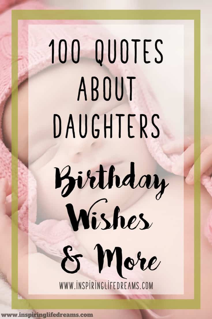 Birthday Quotes To Daughter  100 Quotes About Daughters Birthday Wishes For Daughter
