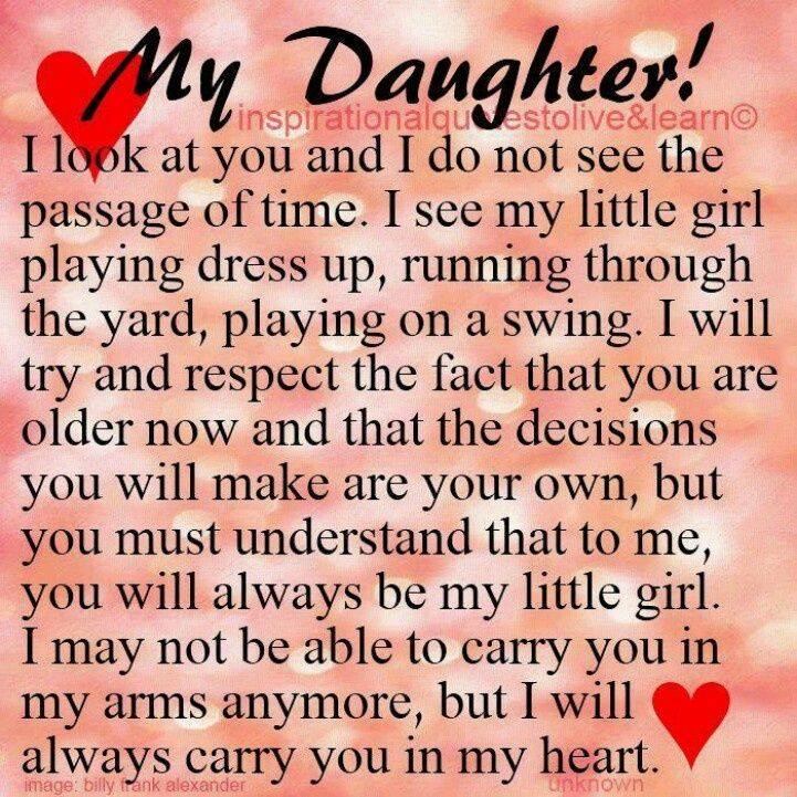 Birthday Quotes To Daughter  inspirational sayings for daughters