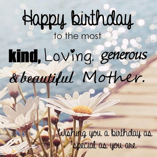 Birthday Quotes To Daughter  Happy Birthday Mom from Daughter Quotes