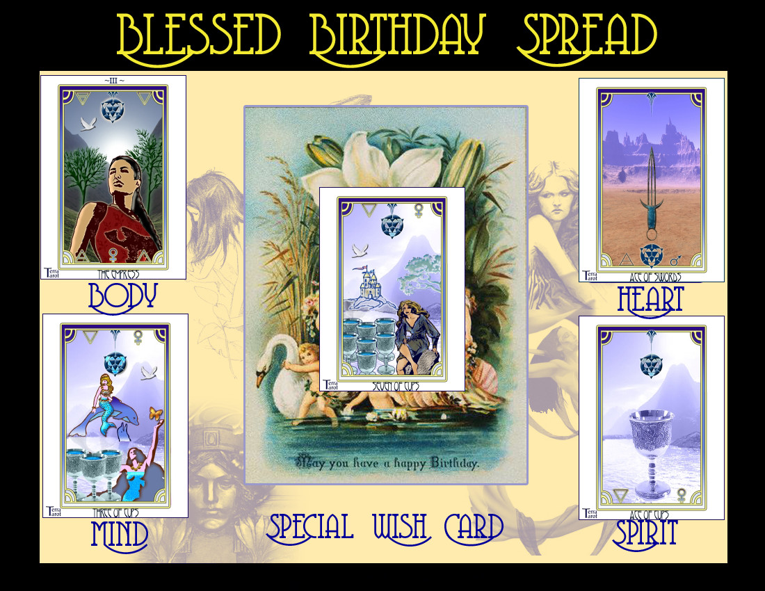 22 best ideas birthday tarot card  home family style