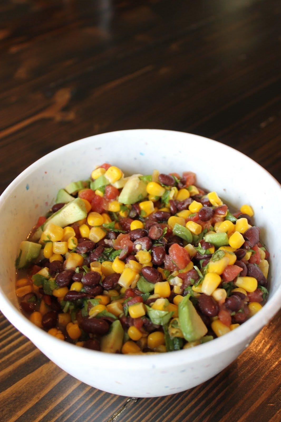 Black Bean Salsa Recipe Easy  Simple Black Bean and Corn Salsa Recipe