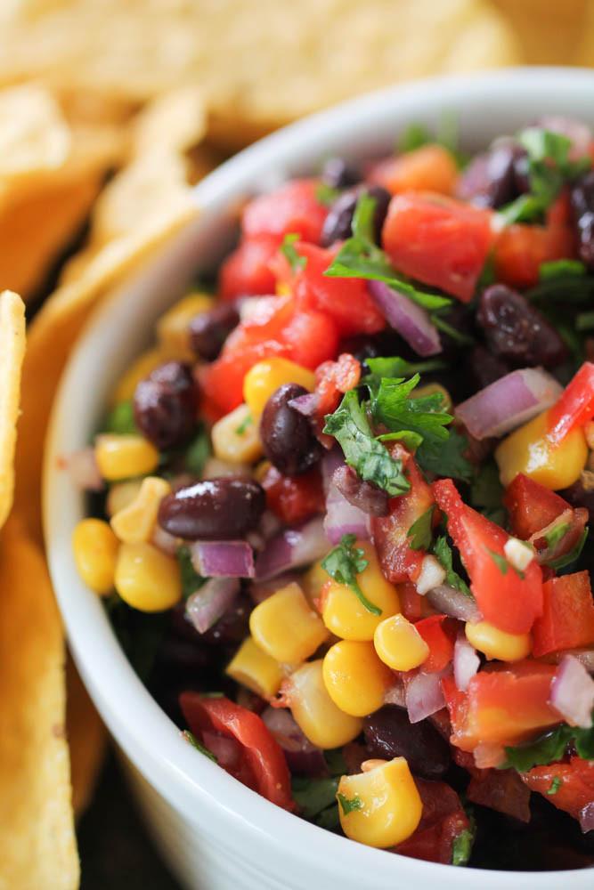 Black Bean Salsa Recipe Easy  Black Bean and Corn Salsa Recipe