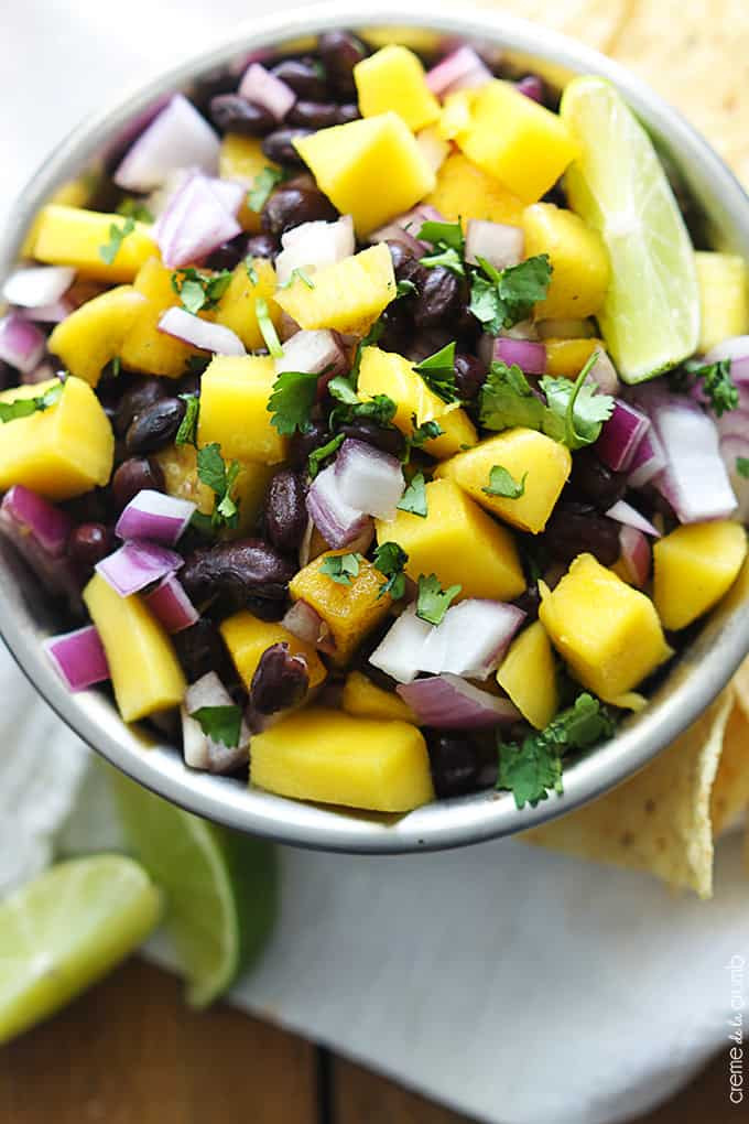Black Bean Salsa Recipe Easy  black bean salsa recipe easy
