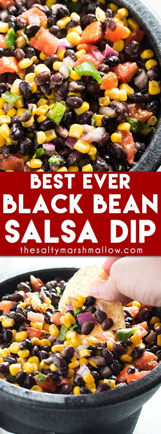 Black Bean Salsa Recipe Easy  Black Bean Salsa Recipe