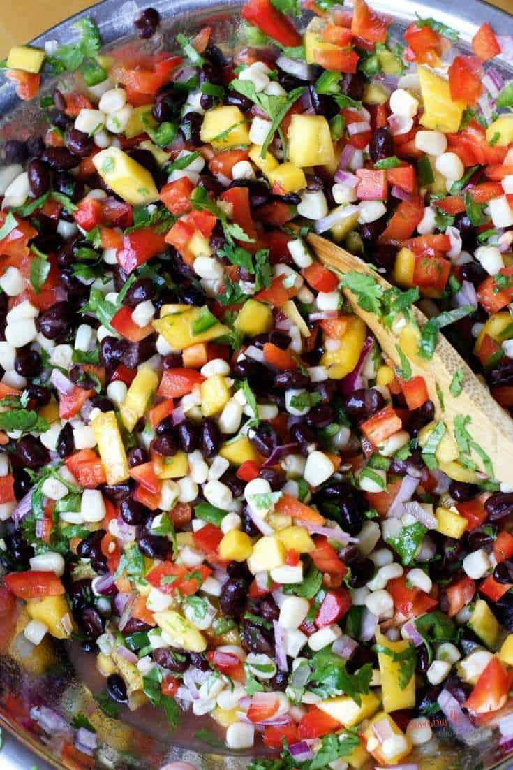 Black Bean Salsa Recipe Easy  Black Bean Salsa Recipe with mango