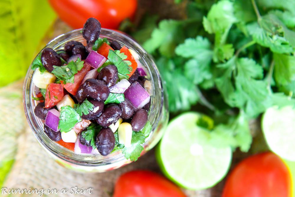 Black Bean Salsa Recipe Easy  Easy Black Bean Salsa recipe perfect for a party