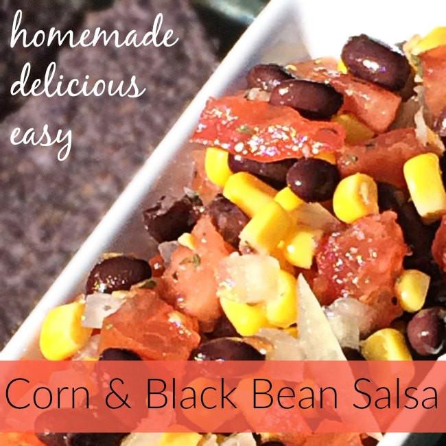 Black Bean Salsa Recipe Easy  Easy Corn and Black Bean Salsa Recipe