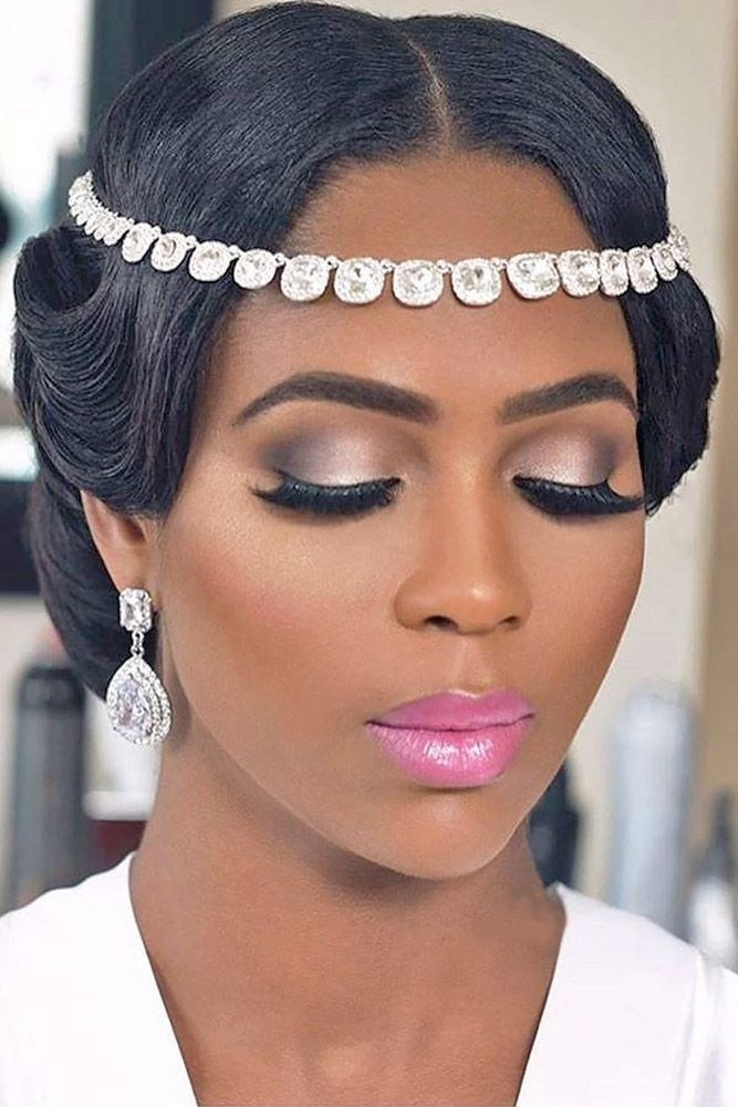 Black Bridesmaids Hairstyles  30 Wedding Hairstyles for Black Women Haircuts