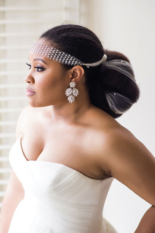 Black Bridesmaids Hairstyles  8 Glam and Gorgeous Black Wedding Hairstyles