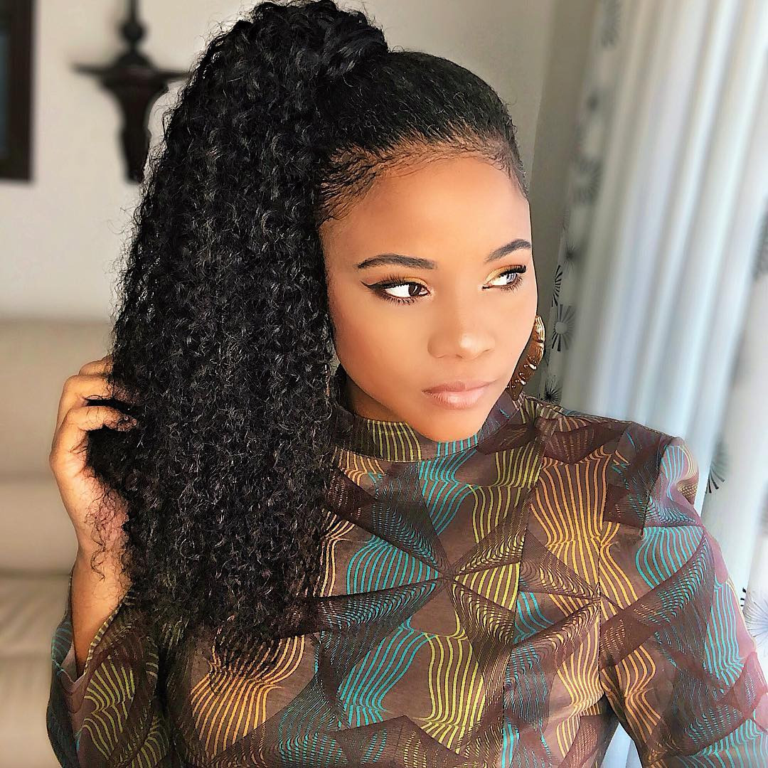 Black Crochet Hairstyles 2020  45 Classy Natural Hairstyles for Black Girls to Turn Heads