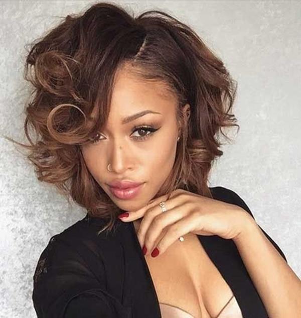 Bob Haircuts For Black Women  45 Beautiful Bob Hairstyles for Black Women Buzz 2018