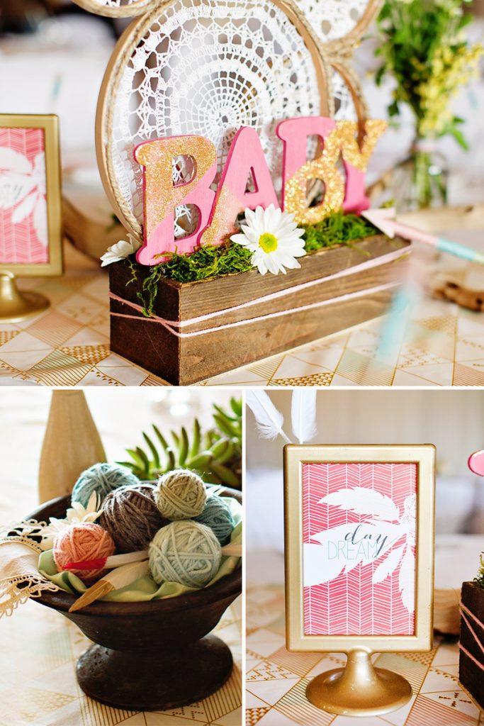 Boho Baby Shower Decor  Dreamy Bohemian Baby Shower – OS Recap Part 1 Hostess