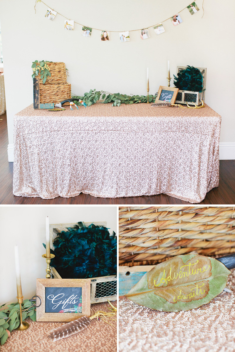Boho Baby Shower Decor  Gorgeous Boho Chic Baby Shower with a hint of Glam