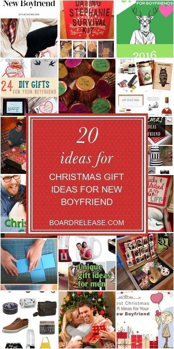 Boyfriend Christmas Gift Ideas 2020  20 Ideas for Christmas Gift Ideas for New Boyfriend